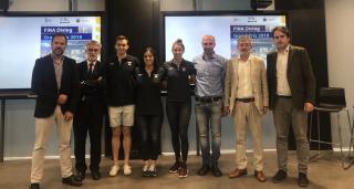 Presentación del GP FINA DIVING MADRID 2019