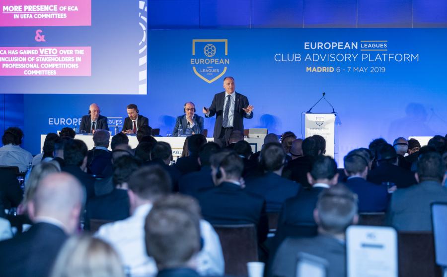 Los clubes europeos se unen contra la reforma de las competiciones de clubes europeos