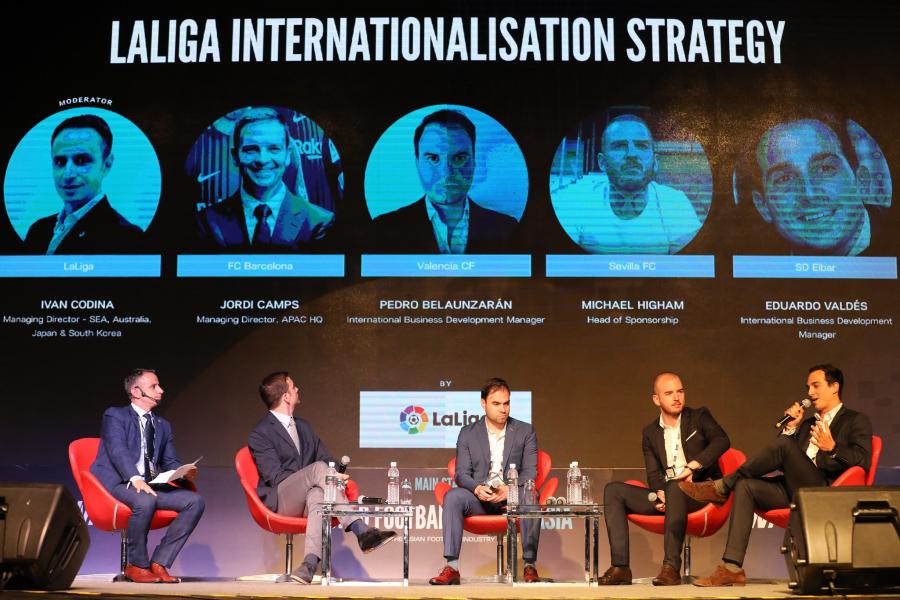 Los clubes de LaLiga trabajan juntos en materia de estrategias de internacionalización