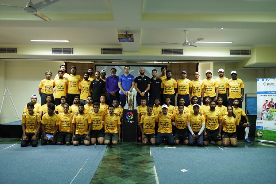 LaLiga se asocia con entrenadores locales para encontrar futuras estrellas del fútbol indio