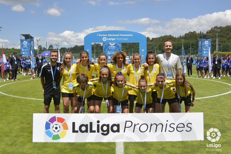 Las estrellas del fútbol femenino reciben su proprio torneo de LaLiga Promises