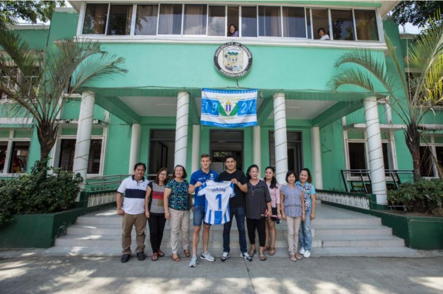 CD Leganés: el sentimiento pepinero viaja a Filipinas