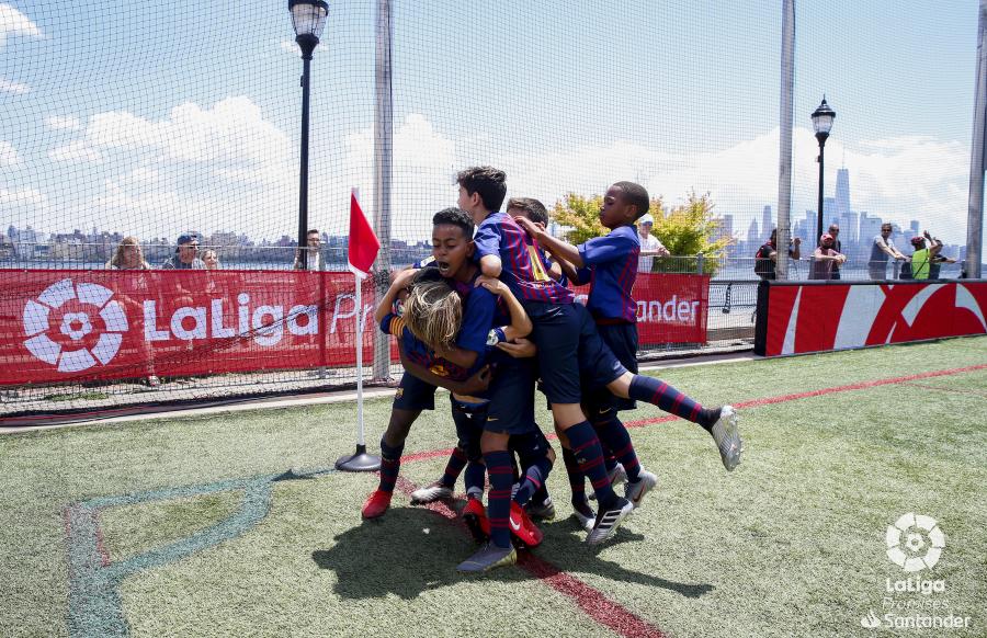 Las mejores canteras del mundo ganan experiencia internacional con LaLiga Promises