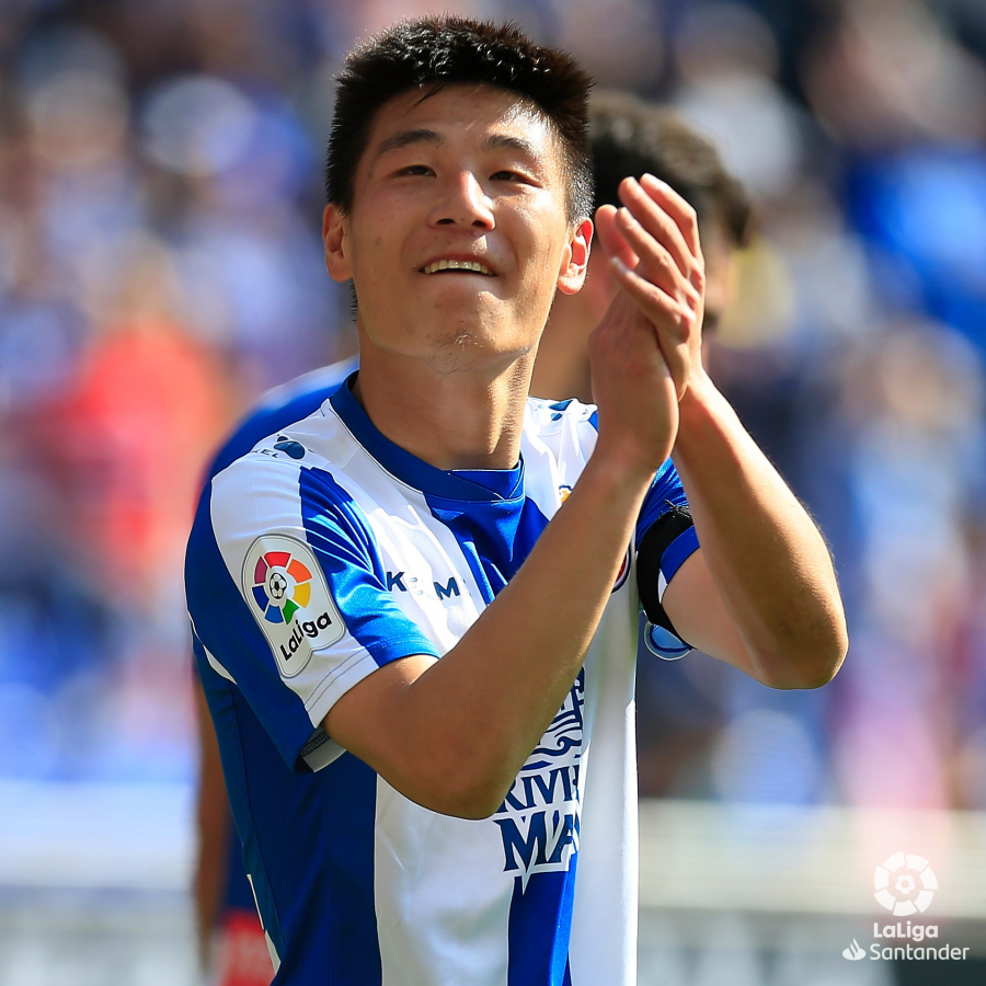 La llegada de Wu Lei al RCD Espanyol impulsa la presencia digital de LaLiga en China