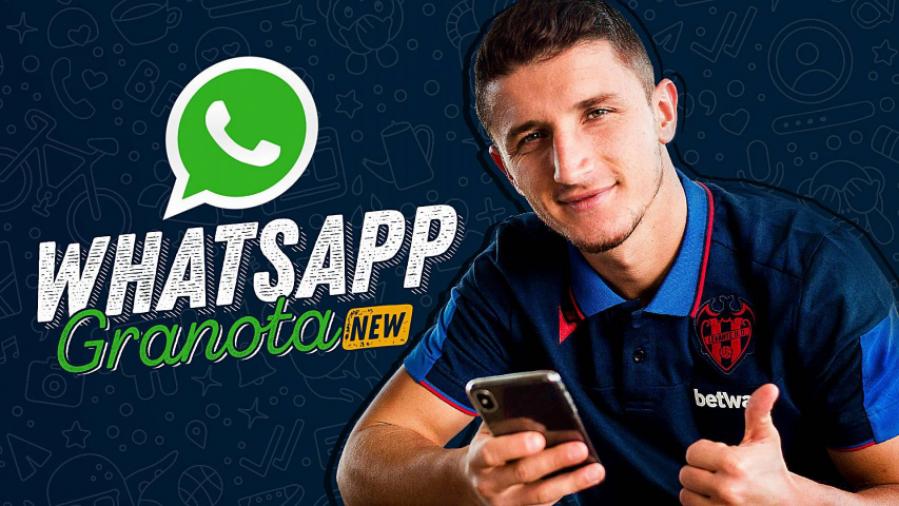 El 'WhatsApp Granota', un nuevo canal de comunicación para informar e involucrar a la familia del Levante UD