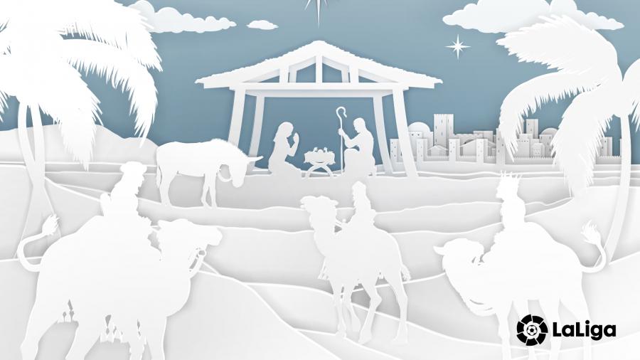 LaLiga y sus clubes celebran la Navidad