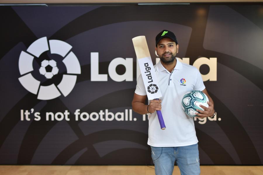 LaLiga impulsa su presencia en India cerrando acuerdos con una estrella de críquet indio y un nuevo sponsor regional