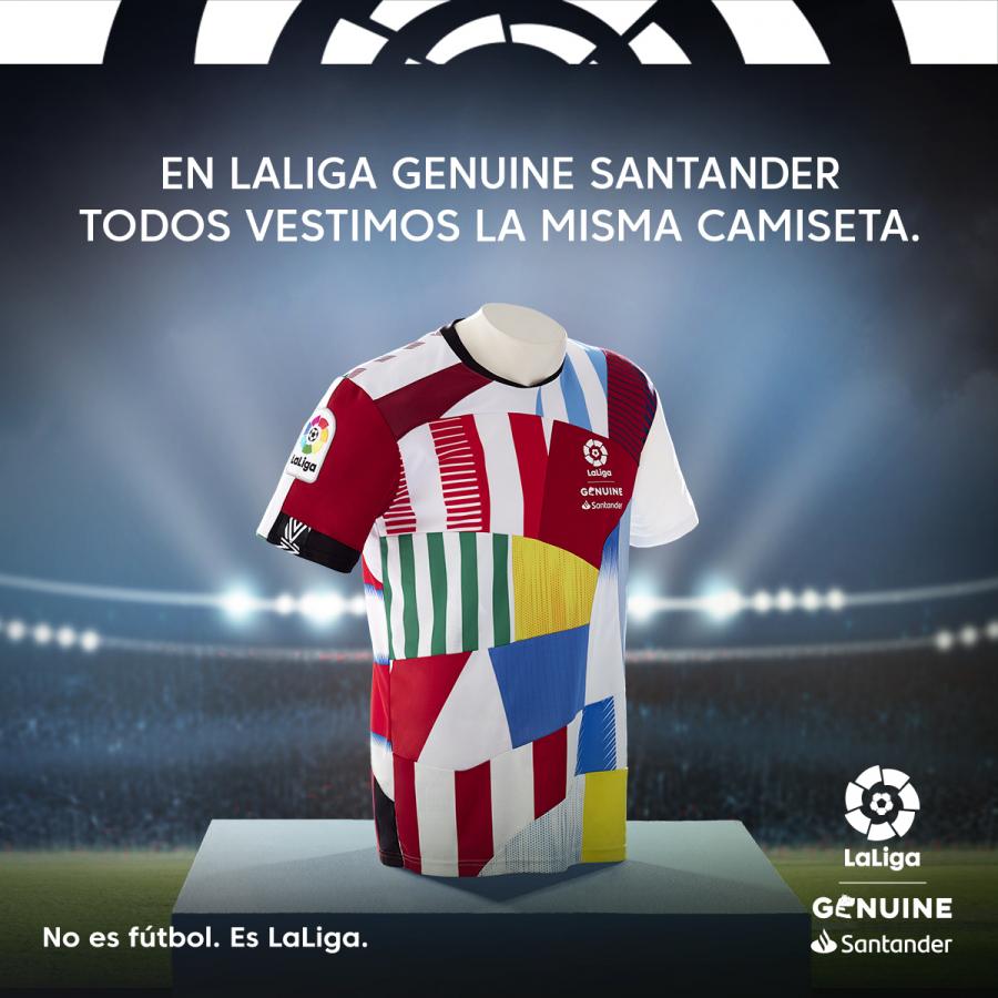 """LaLiga Genuine Santander presenta: """"La Camiseta de Todos"""""""