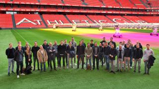 Los estadios de Athletic Club, Real Sociedad y SD Eibar, ejemplo para los clubes de la Eredivise de Holanda