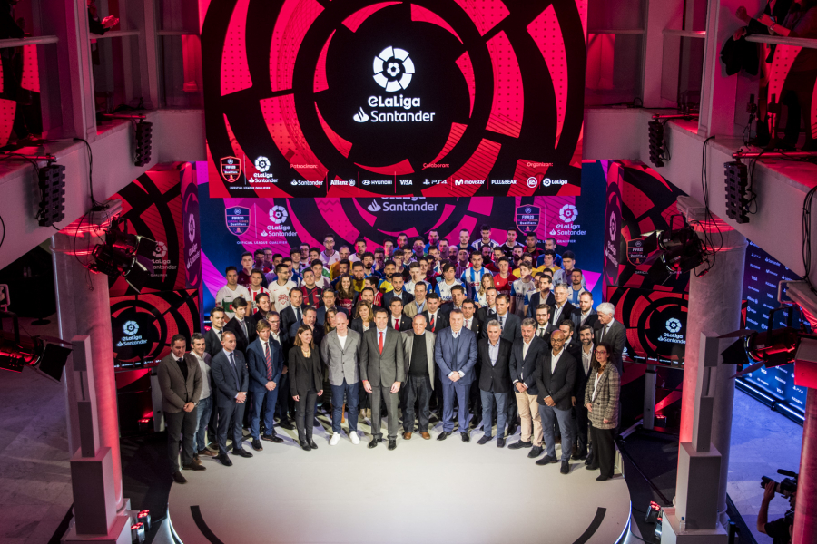 Spanish clubs are growing through eSports and eLaLiga Santander