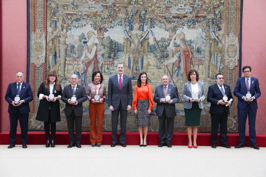 LaLiga, reconocida como Embajador Honorario de la Marca España