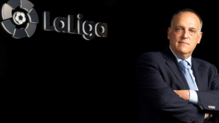 Javier Tebas assesses LaLiga's current situation in the media