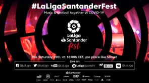 'LaLigaSantander Fest' raises over €1 million