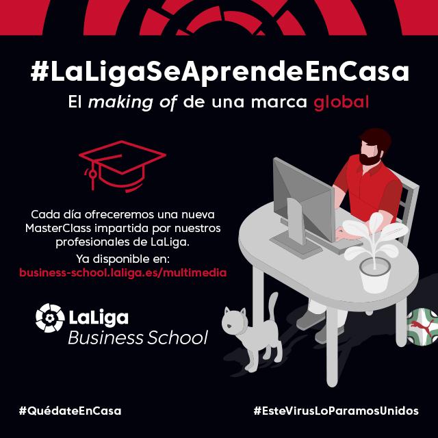 LaLiga Business School ofrece contenidos online gratuitos en formato masterclases