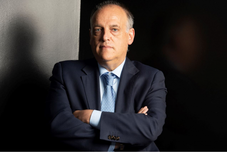 "Javier Tebas: ""We're working to save the future of football"""