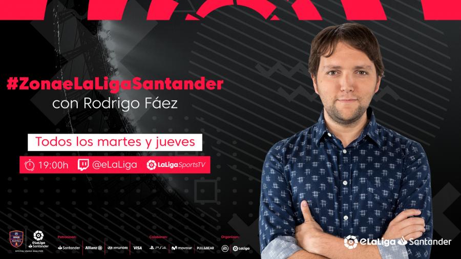 LaLiga lanza 'Zona eLaLiga Santander': actualidad y entretenimiento sobre el FIFA 20 para los amantes del fútbol