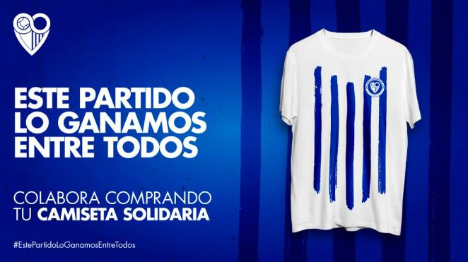 Cádiz CF, Deportivo Alavés and Málaga CF launch solidarity shirts to support fight against COVID-19