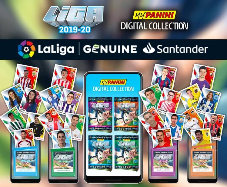 LaLiga FOUNDATION creates new visibility for LaLiga Genuine Santander with Panini cards