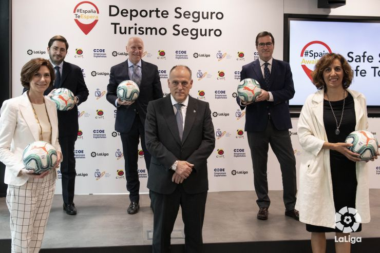 LaLiga joins Spanish Government to promote the return of tourism to Spain