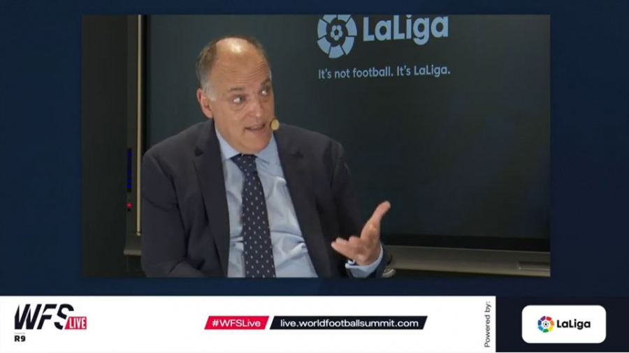 "Javier Tebas: ""Technology is making LaLiga an industry leader"""