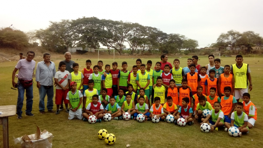 SD Eibar making its mark in Peru by supporting the Piura football school project
