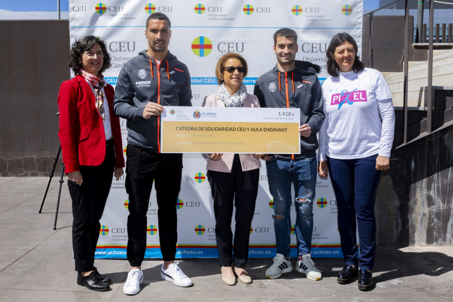 Villarreal CF supports science innovation as part of CEU Cardenal Herrera University partnership