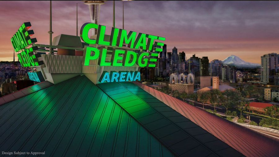 Amazon buys naming rights to new Seattle arena that does not include their name!