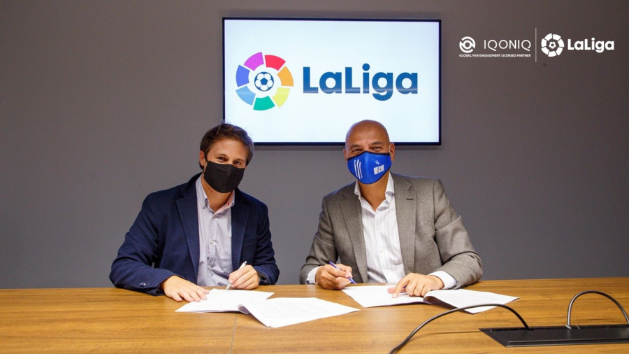 LaLiga arrives on IQONIQ app to bring new digital experiences to global fans