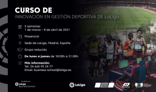 LaLiga, Motorpress Ibérica and LVP combine to create Innovation in Sports Management Course