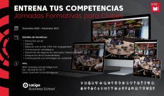 LaLiga refuerza su compromiso sus Clubes y SADs con 'Entrena tus competencias', unas jornadas exclusivas de formación