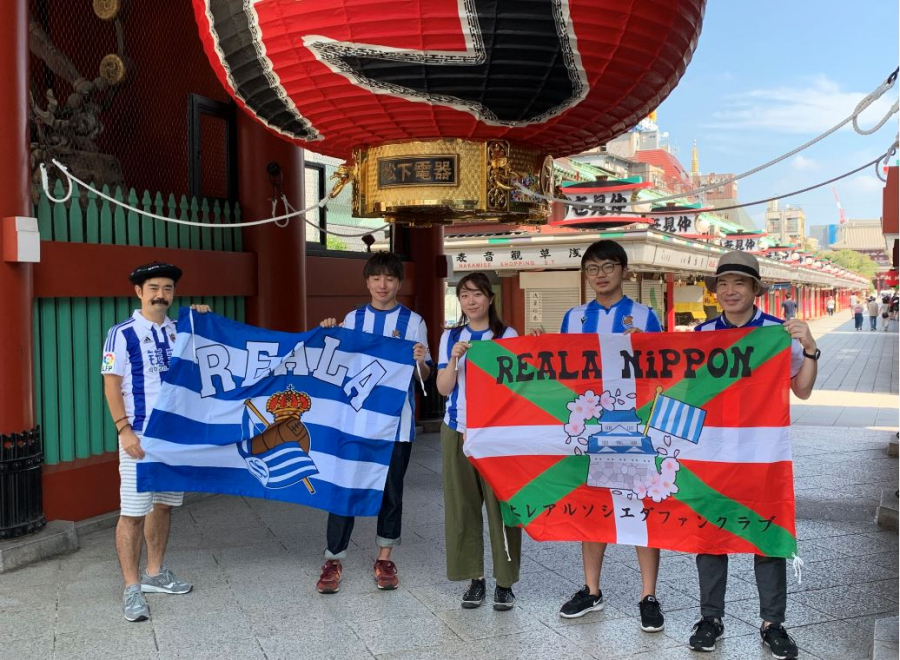 Real Sociedad inaugurates new fan clubs in Japan and Western Sahara