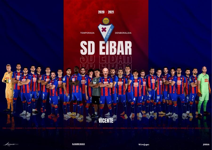 La SD Eibar pone en el centro de todo a sus aficionados con un póster digital personalizado