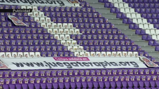 Los Baby Pelones llenan de ilusión las gradas del Estadio José Zorrilla