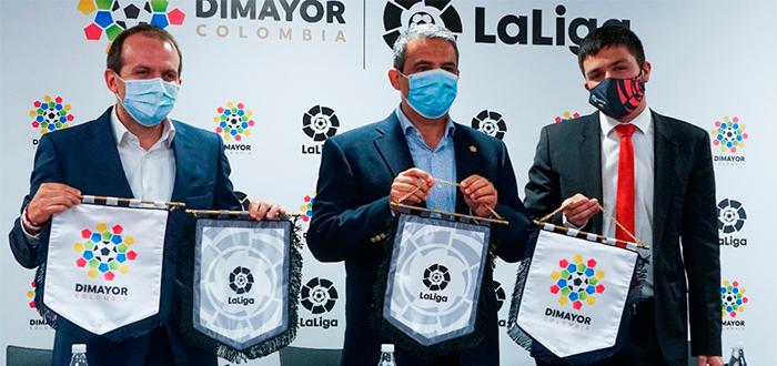 DIMAYOR y LaLiga renuevan su acuerdo de colaboración