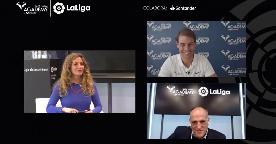 LaLiga y Rafa Nadal Academy firman un acuerdo marco de  colaboración para impulsar ambas marcas
