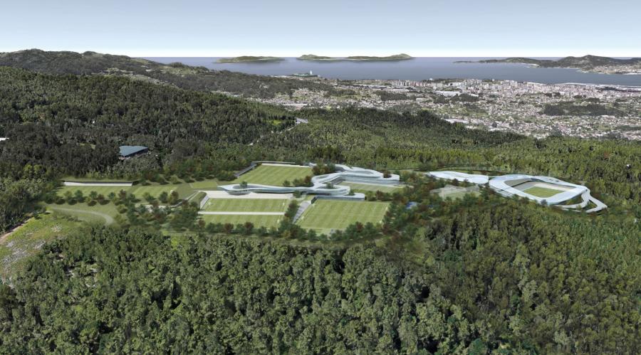El RC Celta sienta las bases del futuro con la nueva Ciudad Deportiva