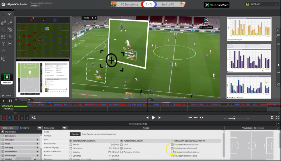 How LaLiga's Mediacoach allows teams to compete using data