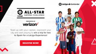 LaLiga North America y Verizon crean una plataforma de gaming única