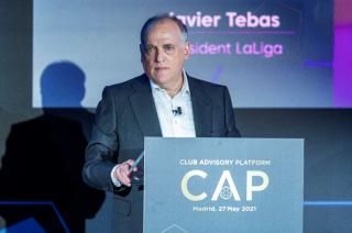 """Javier Tebas y las Ligas Europeas: """"Todos los clubes son importantes, desde los más pequeños hasta los más grandes"""""""
