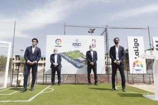 Presentación de ESC Madrid, el complejo deportivo y educacional en partnership con LaLiga y NBA