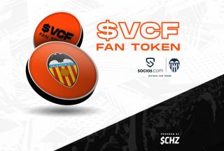 El Valencia CF introduce los FAN TOKENS como patrocinador principal de la camiseta oficial de juego