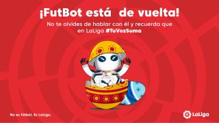 LaLiga activa a 'FutBot', un asistente digital para fomentar las relaciones con sus empleados