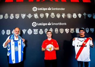 LaLiga's London office hosts supporters of newly promoted clubs sides